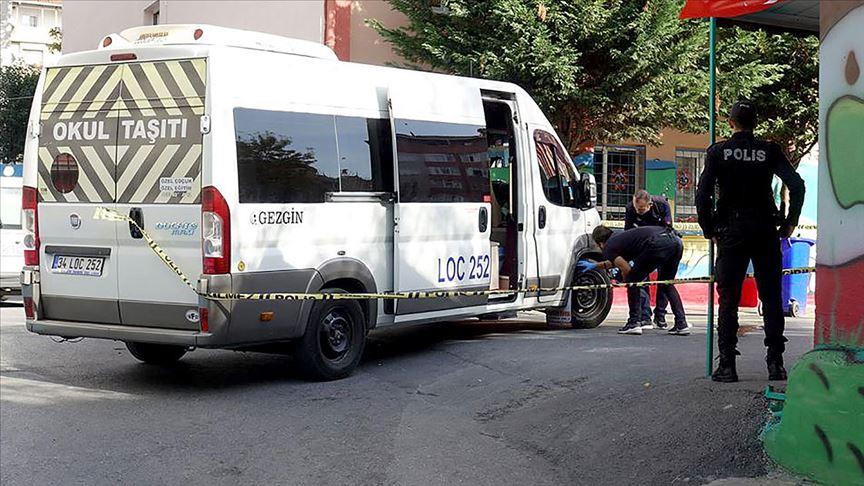 Avcılar'da servis minibüsünün çarptığı öğrenci toprağa verildi