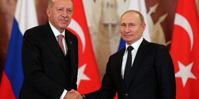 Cumhurbaşkanı Erdoğan Putin ile görüşecek