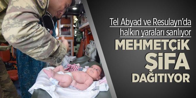 Tel Abyad ve Resulayn'da halkın yaraları sarılıyor