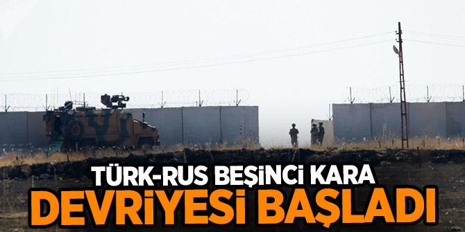 Türk-Rus beşinci kara devriyesi