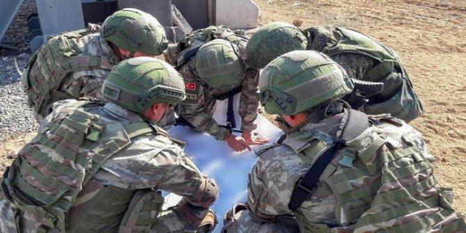 MSB: Ayn el Arap'taki beşinci devriye tamamlandı