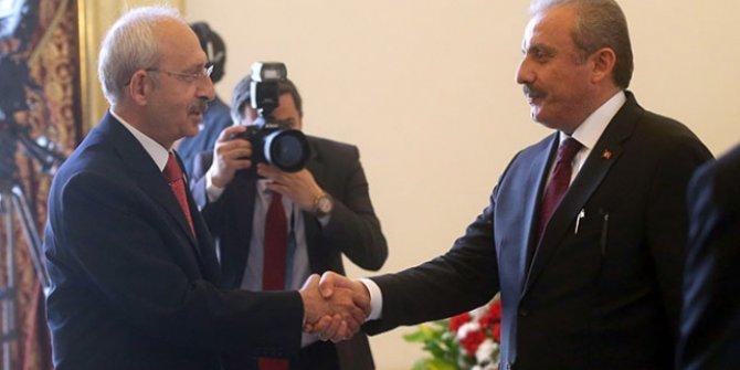 TBMM Başkanı, CHP Genel Başkanı ile görüşecek