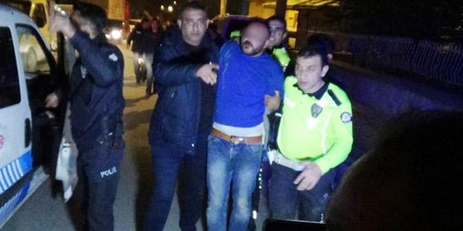 Kütahya'da kavgayı ayıran polislere ateş edildi