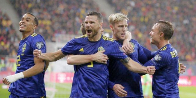 İsveç, EURO 2020 biletini kaptı!  İşte 9'uncu hafta sonuçları..