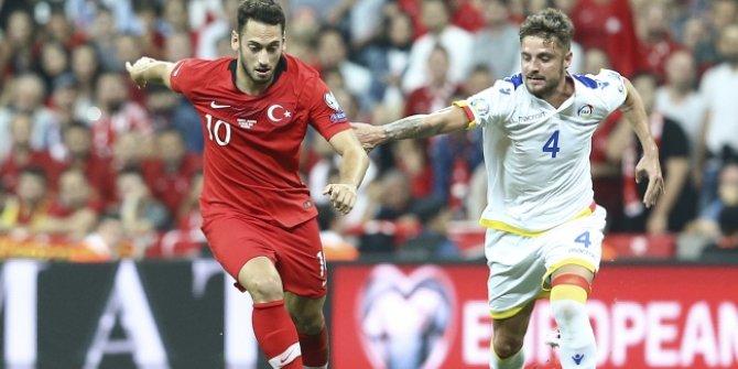 Türkiye ile Andorra 4. kez rakip