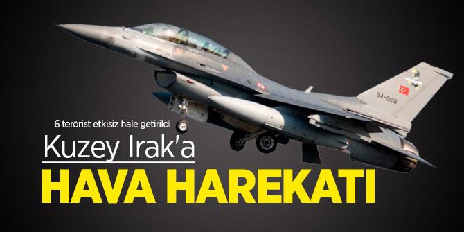 Gara bölgesinde eylem hazırlığında 6 PKK'lı terörist, etkisiz hale getirildi