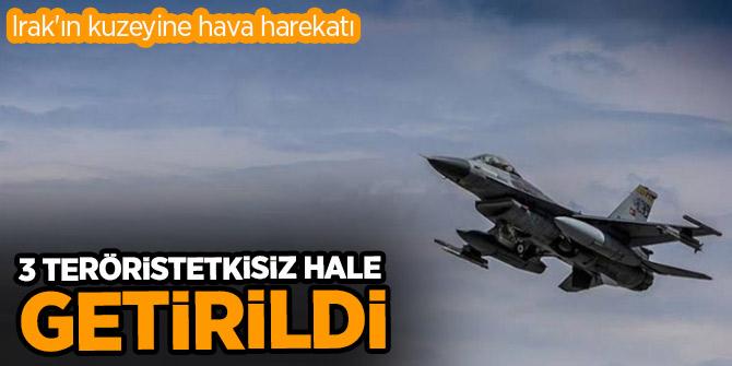 Hakurk bölgesinde 3 PKK'lı terörist etkisiz hale getirildi