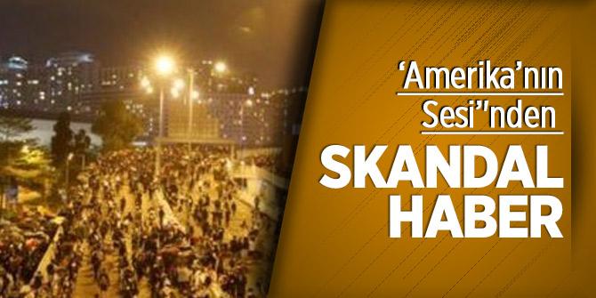 'Amerika'nın Sesi''nden skandal 'Türkiye' algısı