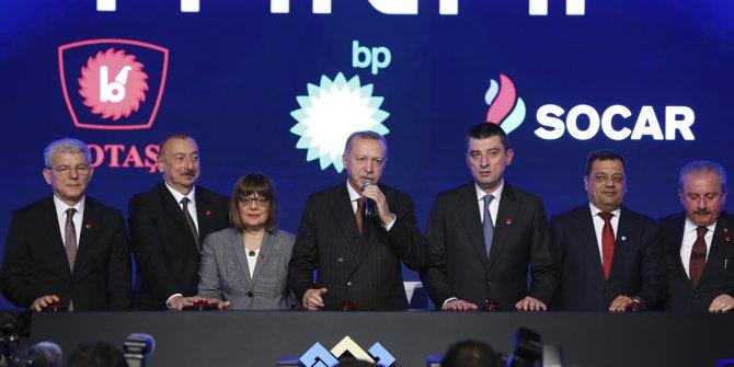 Tarihi adım Türkiye'de atıldı! Erdoğan açılışta resti çekti...