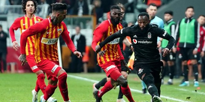 Adebayor Beşiktaş maçının ardından Kayserispor'dan ayrıldığını açıkladı