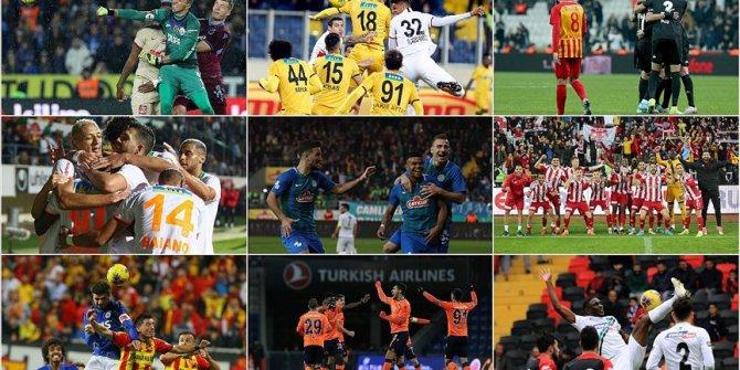 Süper Lig'de 13. hafta tamamlandı! İşte haftanın sonuçları