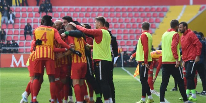 Kayserispor kupada Manisa Futbol Kulübü'nü mağlup etti!