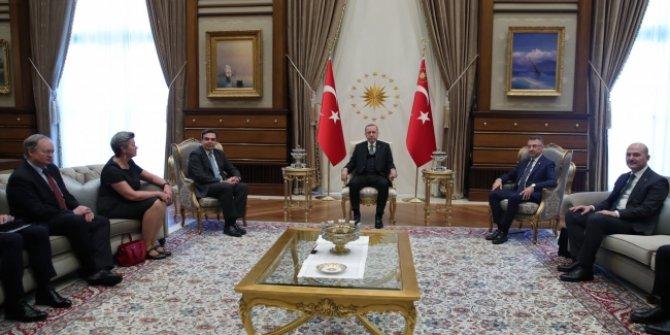 Erdoğan Avrupa Birliği heyetini kabul etti