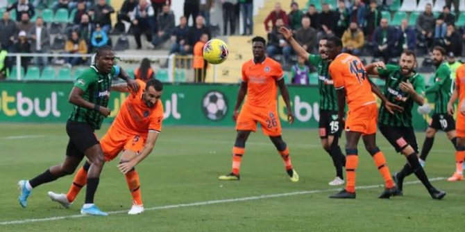 Başakşehir, 3 maç sonra puan yitirdi