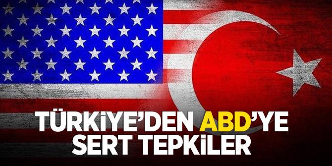 ABD Senatosu'nun kararına Türkiye'den art arda tepkiler