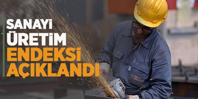 Sanayi üretimi arttı (TÜİK tarafında Sanayi Üretim Endeksi açıklandı)