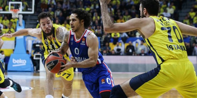 THY Avrupa Ligi'nin ardından Potada derbi heyecanı (Anadolu Efes Fenerbahçe)