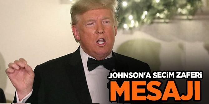 Trump seçim zaferi nedeniyle Boris Johnson'ı  kutladı