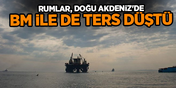 Rum Fileleftheros gazetesi: Rumlar, Doğu Akdeniz'de BM ile de ters düştü