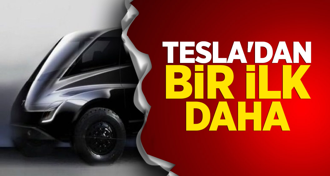 Elon Musk açıkladı! Tesla'dan bir ilk daha