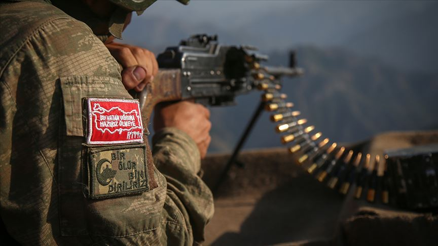 Irak'ın kuzeyindeki Haftanin bölgesine 6 PKK'lı terörist etkisiz hale getirildi