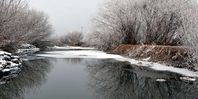 Doğu'da kar yağışı ve soğuk hava etkili oldu
