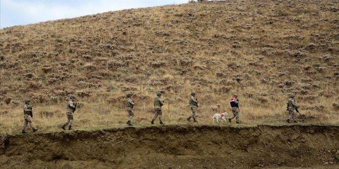 Jandarma ikna etti! PKK'lı terörist teslim oldu