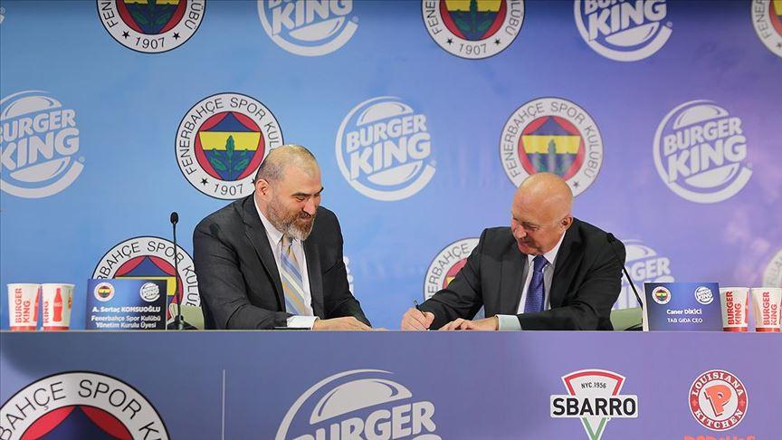 Fenerbahçe TAB Gıda'yla sponsorluk anlaşması imzaladı
