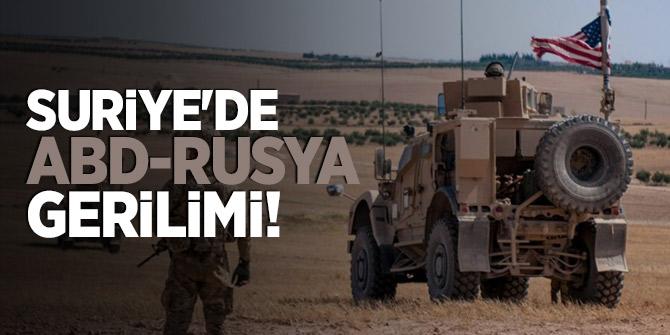 Suriye'de ABD-Rusya gerilimi!