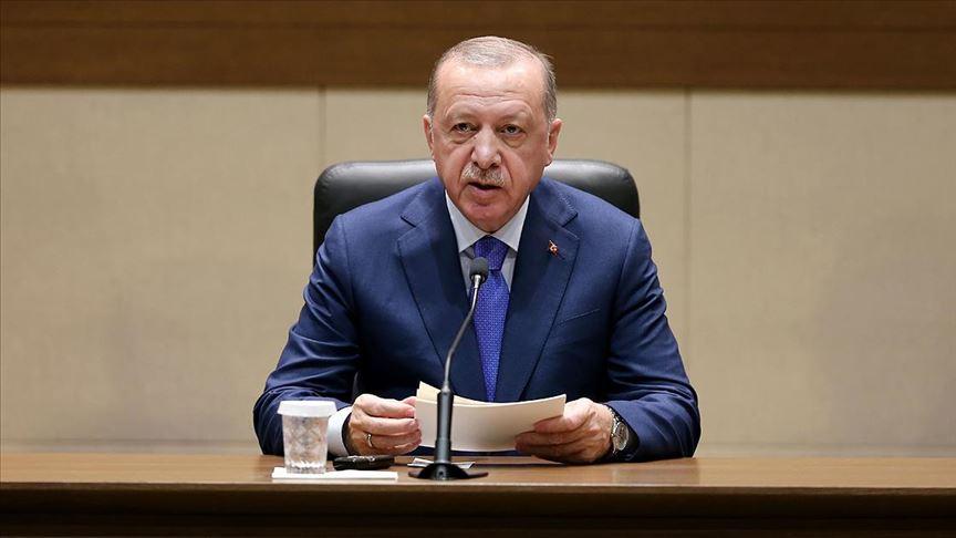 """Erdoğan'dan Berlin zirvesi öncesi net mesaj: """"Libya'da barışın anahtarı Türkiye'dir"""""""