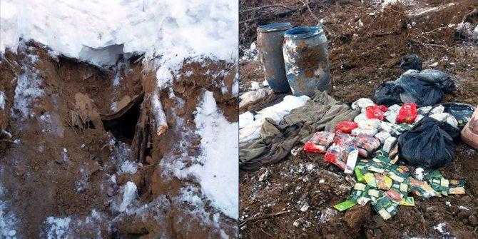 PKK'lı teröristlerin kullandığı 5 sığınak imha edildi