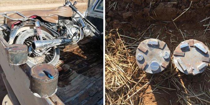 Milli Savunma Bakanlığı açıkladı: Motosiklete tuzaklanan EYP imha edildi