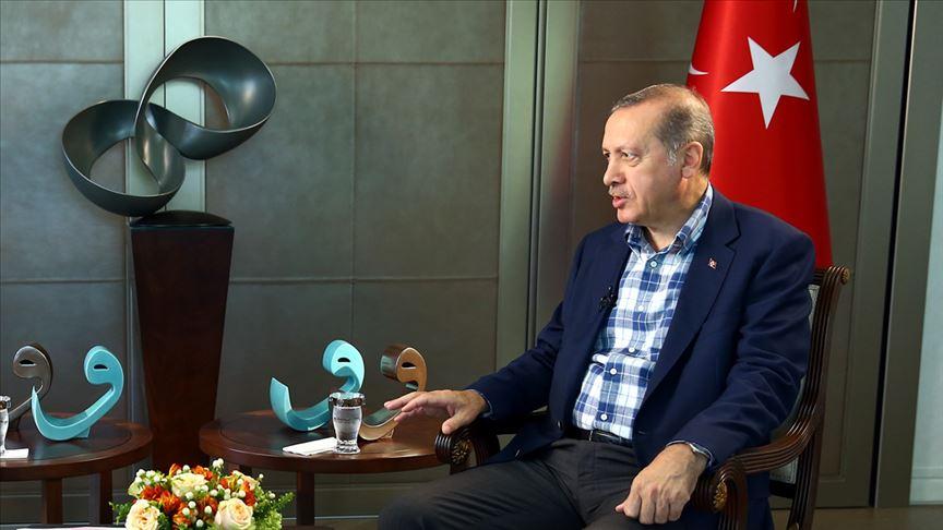 Erdoğan'dan net mesaj: Seyirci kalamazdık