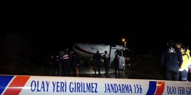 Uşak'ta çekici ile tanker çarpıştı: 1 ölü