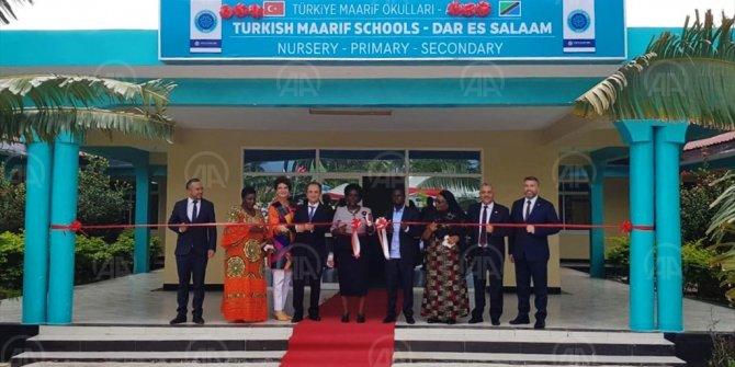 Tanzanya Eğitim Bakanı'ndan Türkiye Maarif Vakfı okullarına destek