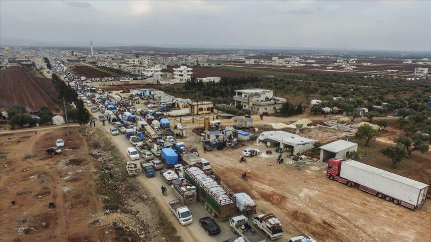 İdlib'de son 3 ayda çatışmalar yüzünden 830 bin kişi yerinden edildi