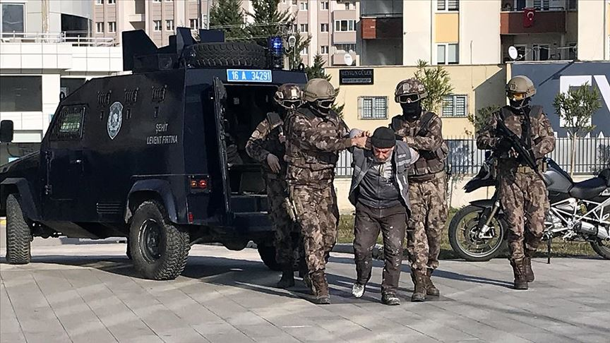 Bursa'da terör örgütü DEAŞ'ın sözde üst düzey yöneticisi yakalandı
