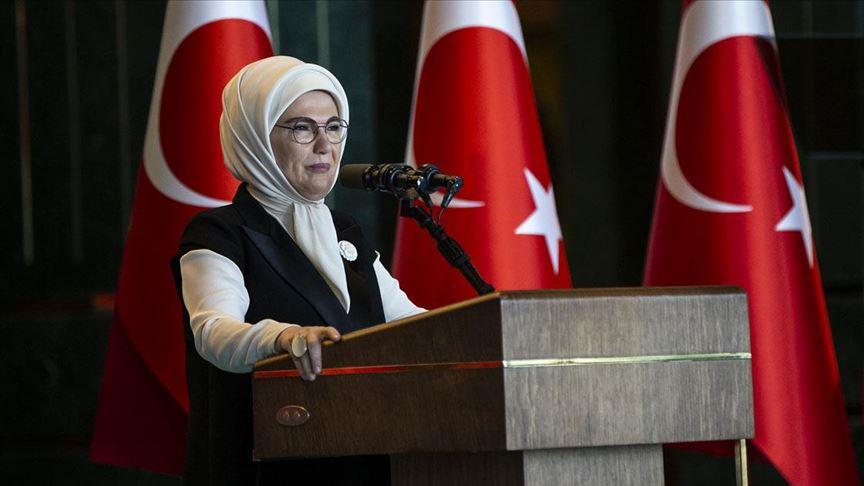 Emine Erdoğan: İslam bize sürdürülebilir bir yaşamın sınırlarını çizer
