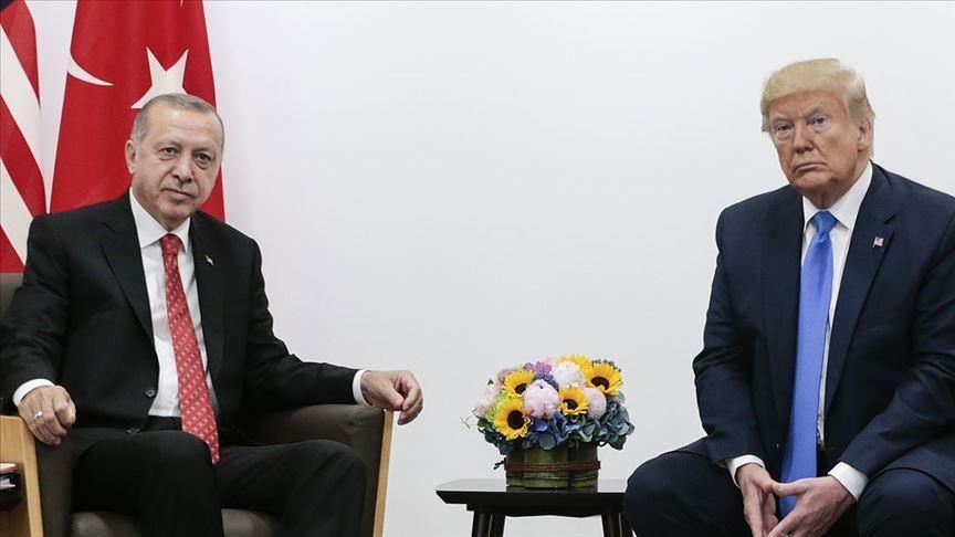 Trump, İdlib konusunda Cumhurbaşkanı Erdoğan ile beraber çalıştıklarını söyledi