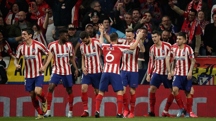 Atletico Madrid, son şampiyon Liverpool'u yendi