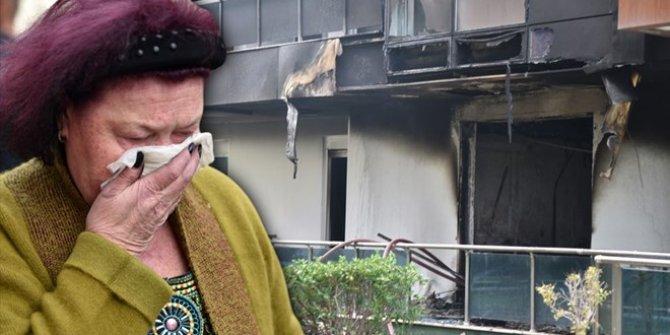Antalya'da 5 katlı rezidansta yangın