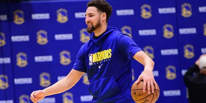Golden State Warriors'ta Klay Thompson eylül ayında sahalara dönecek