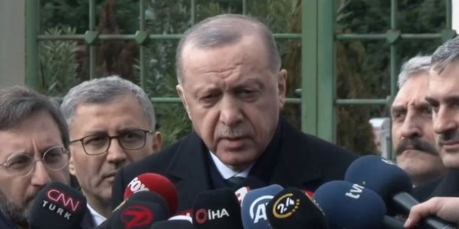 Cumhurbaşkanı Erdoğan: Saat 18.00 gibi Putin ile telefon görüşmem olacak