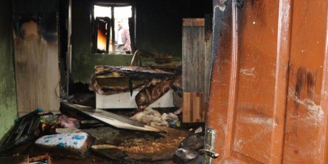 4 yaşındaki Hilal yangın kurbanı