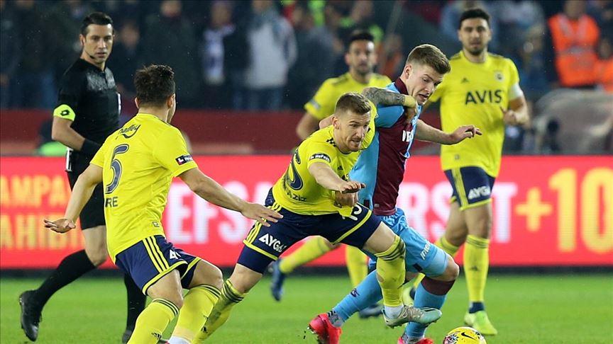 Trabzonspor-Fenerbahçe kupa maçına sarı-lacivertli taraftarlar alınmayacak