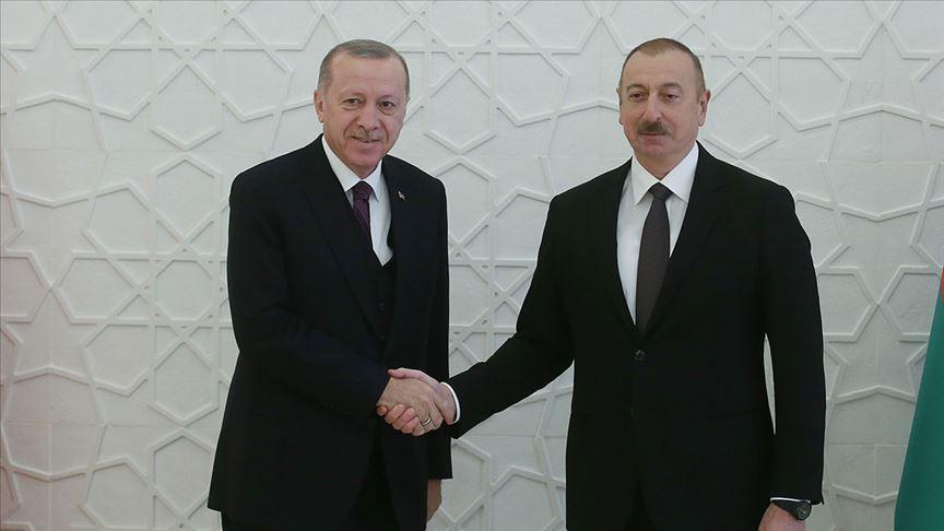 Aliyev, Erdoğan'ın doğum gününü kutladı