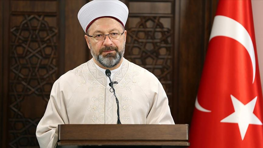 Diyanet İşleri Başkanı Erbaş'tan 'Regaib Kandili' mesajı