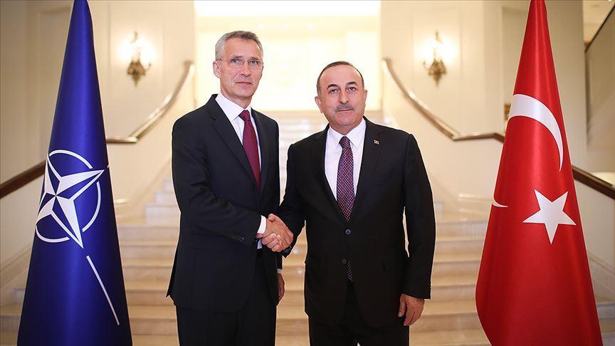 Dışişleri Bakanı Çavuşoğlu, NATO Genel Sekreteri Stoltenberg görüştü