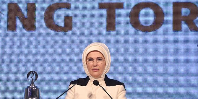 Emine Erdoğan: Kadınların iş gücüne katılma oranı 4 kat daha hızlı arttı