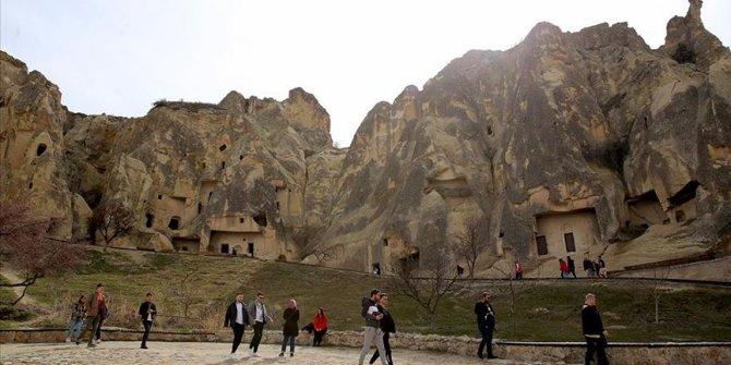 Kapadokya, turistlerin ilgisini çekmeye devam ediyor